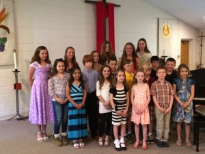 June 2014 Celebration Recital
