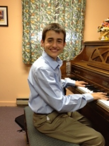 "5/2013 - Tim won 2nd place in the state PTA Reflections program with his composition,""Living in Air"" Congratulations!"
